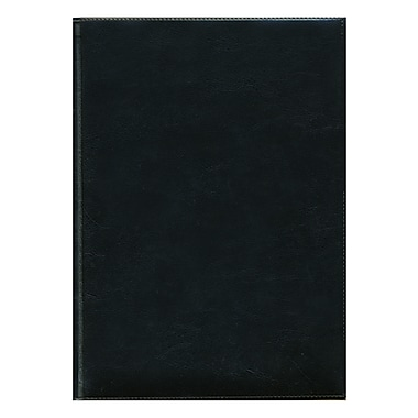 Pierre Belvedere Large Milano Notebook, Black