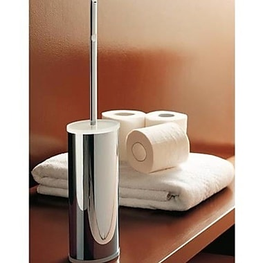Toscanaluce by Nameeks Free Standing Toilet Brush and Holder; Blue