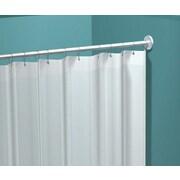 ASI – Rideau de douche en vinyle, blanc, 42 po x 72 po