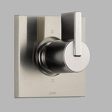 Delta Vero Diverter Faucet Trim w/ Lever Handles; Brilliance Stainless