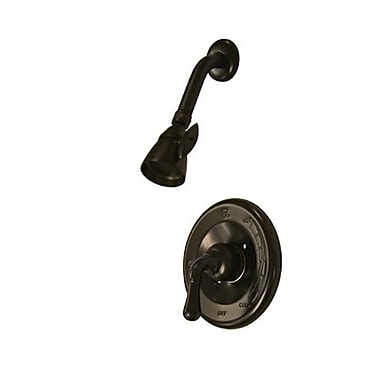Elements of Design St. Charles Pressure Balanced Volume Control Shower Faucet; Oil Rubbed Bronze