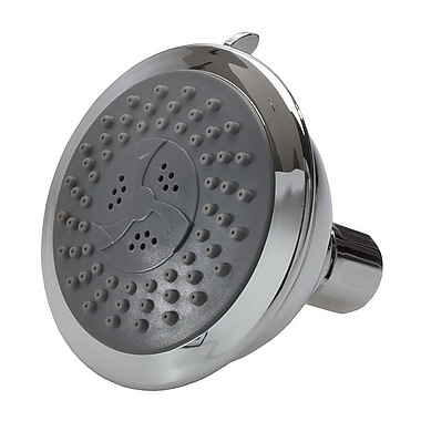 Artos Four Function Shower Head; Brushed Nickel
