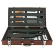 Mr. Bar-B-Q Rosewood Handle Forged Tool Set (Set of 5)