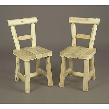 Rustic Cedar Cedar Solid Wood Dining Chair