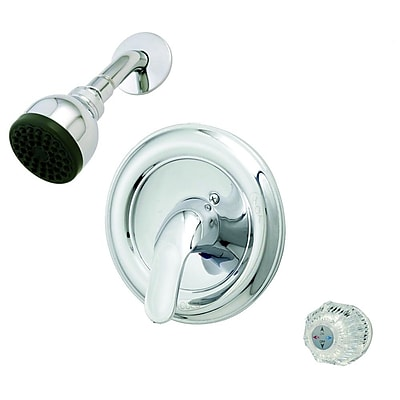 Aqueous Faucet Basic Tub and Shower Faucet Trim Knob or Lever Handle; Chrome