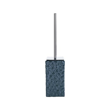 Gedy by Nameeks Martina Free Standing Toilet Brush and Holder; Blue