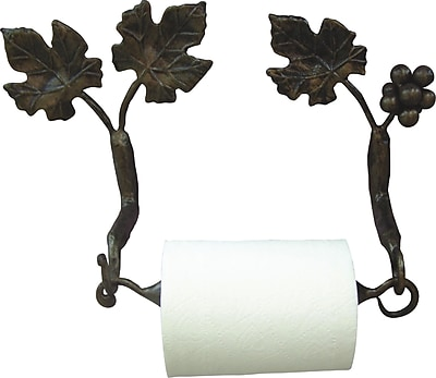 Quiescence Vineyard Wall Mounted Toilet Paper Holder; Oil Rubbed Bronze