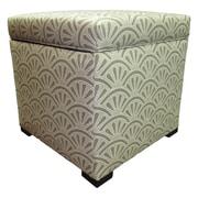 Sole Designs Tamara Ottoman; Bonjour Platinum