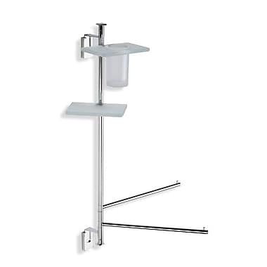 Stilhaus by Nameeks Quid Wall MountedThree Function Toilet Brush Set