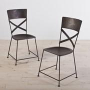 Wildon Home   Dayton Side Chair (Set of 2); Zinc