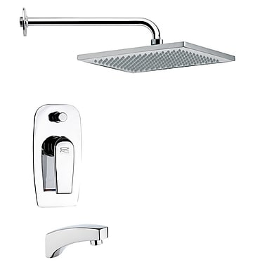 Remer by Nameek's Peleo Diverter Tub and Shower Faucet w/ Valve