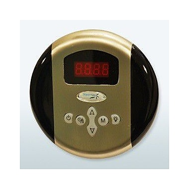 Steam Spa SteamSpa Programmable Control Panel w/ Presets; Brushed Nickel