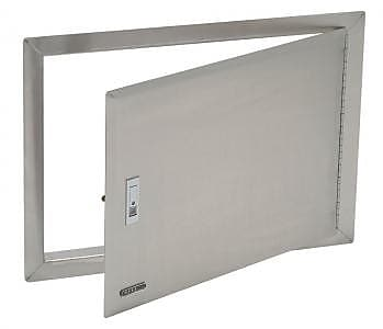 Bull Outdoor Stainless Steel Access Door w/ Lock and Frame
