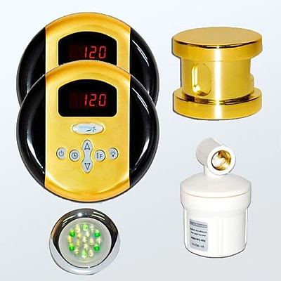 Steam Spa SteamSpa Royal Control Kit; Gold