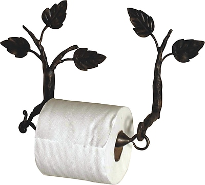 Quiescence Aspen Wall Mounted Toilet Paper Holder; Silver Shimmer