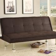 Hokku Designs Sleeper Sofa; Espresso