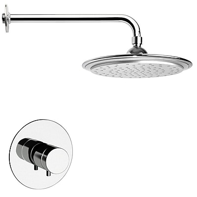 Remer by Nameek's Mario Thermostatic Shower Faucet w/ Valve and Diverter