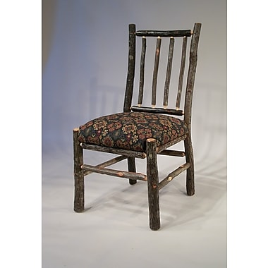 Flat Rock Furniture Berea Rail Back Side Chair; Ponderosa
