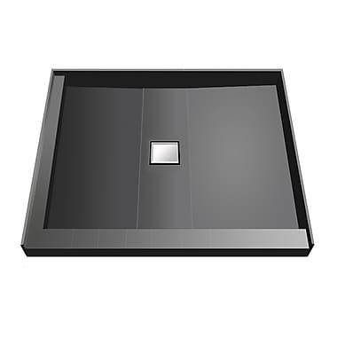 Tile Redi Shower Pan; 5.75'' H x 36'' W x 36'' D