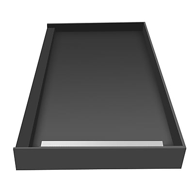 Tile Redi Plank Pitch Single Threshold Shower Base w/ Drain Grate; 5.75'' H x 48'' W x 30'' D