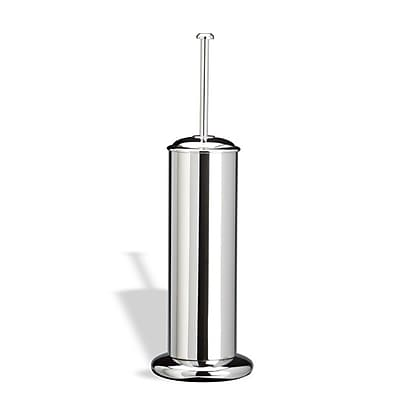 Stilhaus by Nameeks Pegaso Free Standing Rounded Toilet Brush and Holder