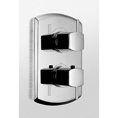 Toto Soir e Thermostatic Mixing Valve Trim w/ Dual Volume Control and Lever Handles