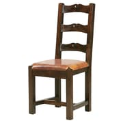 William Sheppee Tuscan Genuine Leather Upholstered Dining Chair; Brown