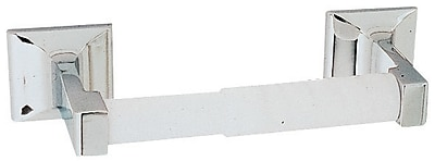 Design House MillBridge Wall Mounted Toilet Paper Holder; Polished Chrome