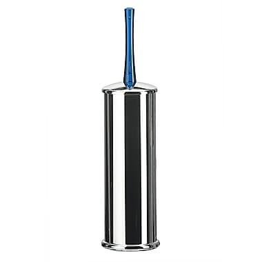 WS Bath Collections Koko Free Standing Toilet Brush and Holder; Blue