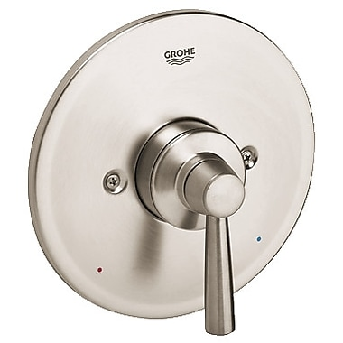 Grohe Arden Pressure Balance Shower Faucet Trim w/ Lever Handle; Brushed Nickel