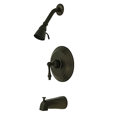 Kingston Brass Restoration Single Handle Tub and Shower Faucet