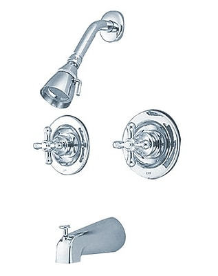 Kingston Brass Vintage Tub and Shower Faucet