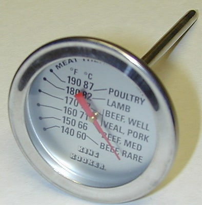King Kooker Meat Thermometer w/ Probe