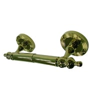 Kingston Brass Templeton Wall Mounted Toilet Paper Holder; Polished Brass