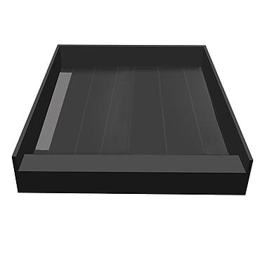 Tile Redi 36'' x 42'' Single Threshold Shower Base w/ Drain Top; Left