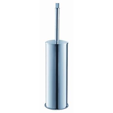Fresca Chrome Free Standing Toilet Brush and Holder