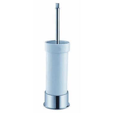 Fresca Ceramic Free Standing Toilet Brush and Holder