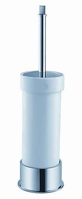 Fresca Ceramic Free Standing Toilet Brush and Holder