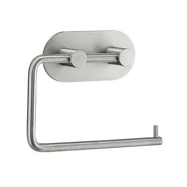 Smedbo Beslagsboden Wall Mounted Toilet Paper Holder; Brushed Stainless Steel