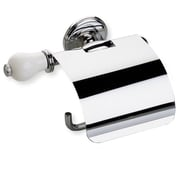 Stilhaus by Nameeks Nemi Wall Mounted Toilet Paper Holder w/ Cover and End Cap