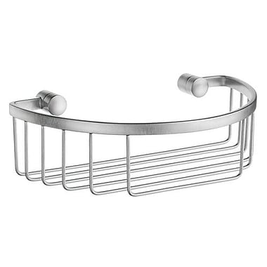 Smedbo Sideline Shower Caddy; Brushed Chrome
