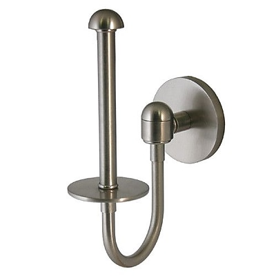 Allied Brass Tango Wall Mounted Upright Tissue Holder; Polished Chrome