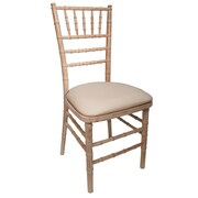 Commercial Seating Products American Classic European Side Chair; White Wash