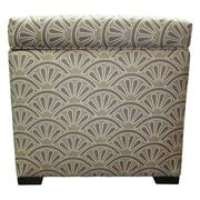 Sole Designs Tamara Ottoman; Bonjour Amethyst