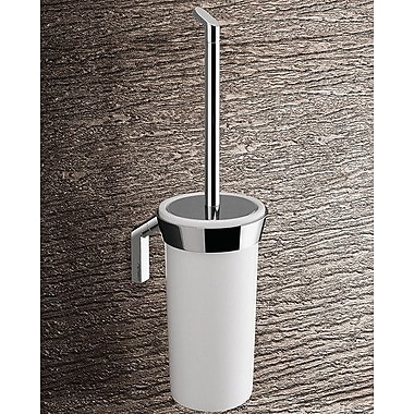 Gedy by Nameeks Karma Wall MountedToilet Brush and Holder