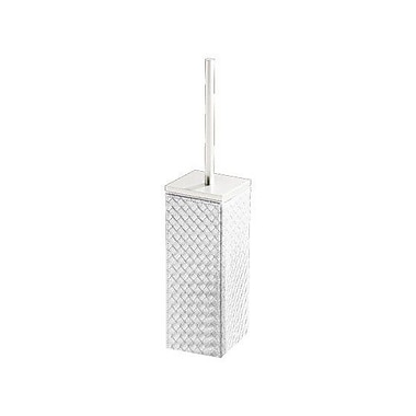Gedy by Nameeks Marrakech Free Standing Toilet Brush and Holder; Pearl White
