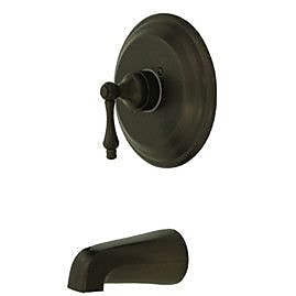 Kingston Brass Vintage Tub and Shower Faucet Trim; Oil Rubbed Bronze