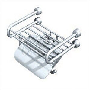 Empire Industries Tivoli Wall Mounted Soap Rack w/ Paper Holder and Lid