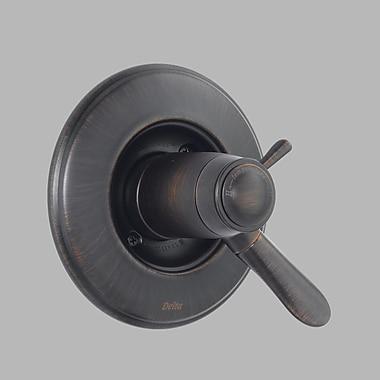 Delta Lahara faucet Trim w/ Lever Handles; Venetian Bronze