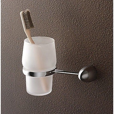 Toscanaluce by Nameeks Marina Wall Mounted Tumblers and Tumbler Holder